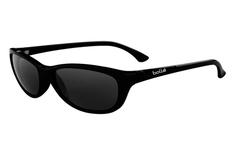 Bolle - Greta Shiny Black Sunglasses, TNS Oleo AR Polarized Lenses