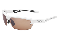 Bolle - Bolt Shiny White Sunglasses, Modulator V3 Golf Oleo AF Lenses