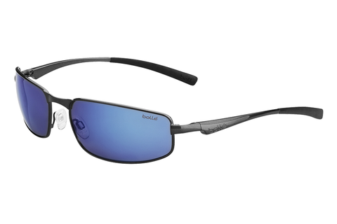 Bolle - Everglades Metallic Gunmetal Sunglasses, GB10 Oleo AF Polarized Lenses