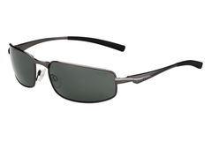 Bolle - Everglades Shiny Gunmetal Sunglasses, TNS Oleo AF Polarized Lenses