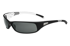 Bolle - Recoil Matte Black/White Arrow Sunglasses, TNS Oleo AF Polarized Lenses