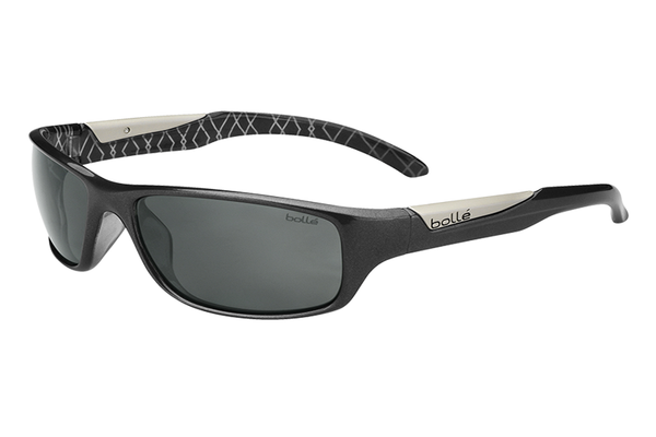 Bolle - Vibe Shiny Anthracite Sunglasses, TNS Oleo AF Polarized Lenses