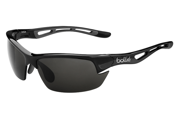 Bolle - Bolt S Shiny Black Sunglasses, PC TNS AF Lenses