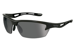 Bolle - Bolt Shiny Black Sunglasses, PC TNS Oleo AF Polarized Lenses