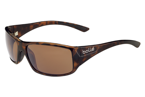 Bolle - Kingsnake Shiny Tortoise Sunglasses, A14 Oleo AF Polarized Lenses