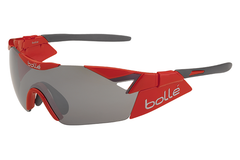 Bolle - 6th Sense S Shiny Red Sunglasses, TNS Gun Oleo AF Lenses