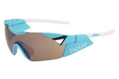 Bolle - 6th Sense S Shiny Blue Sunglasses, Modulator Rose Gun Oleo AF Lenses