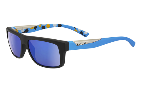 Bolle - Clint  Matte Black/Blue Sunglasses, GB10 Oleo AF Polarized Lenses