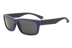 Bolle - Daemon Matte Purple/Black Sunglasses, TNS Lenses