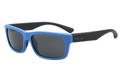 Bolle - Daemon Matte Blue/Black Sunglasses, TNS Lenses