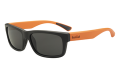 Bolle - Daemon Matte Black/Orange Sunglasses, TNS Lenses