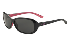 Bolle - Jenny Shiny Black/Pink Sunglasses, TNS Lenses