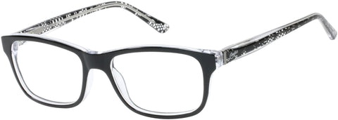 Candie's - CAA136 Black Eyeglasses / Demo Lenses