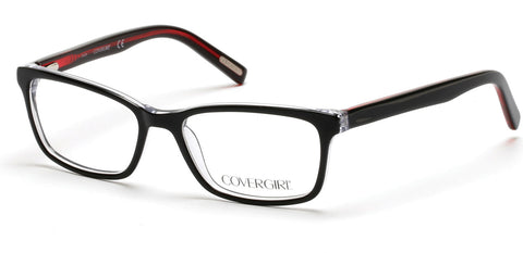 Cover Girl - CG0538 Black Eyeglasses / Demo Lenses