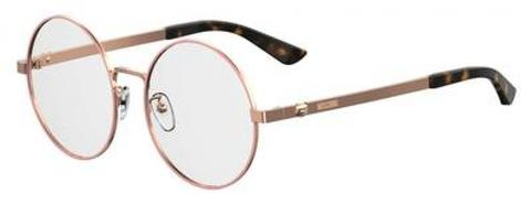 Moschino - Mos 538 F Gold Copper Eyeglasses / Demo Lenses