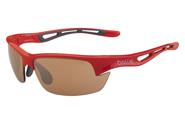 bda402eda Bolle - Bolt S Shiny Red Sunglasses, Modulator V3 Golf Oleo AF Lenses – New  York Glass