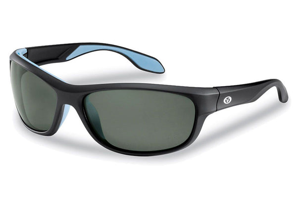 Flying Fisherman - Cayo 7824 Matte Black Sunglasses, Smoke Lenses