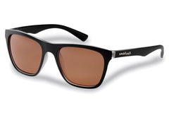 Flying Fisherman - Fowey 7837 Crystal-Matte Black Sunglasses, Copper Lenses