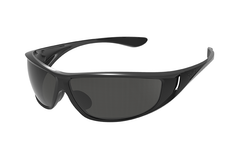 Bolle - Highwood Shiny Black Sunglasses, TNS Oleo AF Polarized Lenses