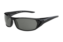 Bolle - Blacktail Shiny Black/Black Sunglasses, TNS Oleo AF Polarized Lenses