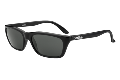 Bolle 527 Shiny Black Sunglasses, TNS Lenses