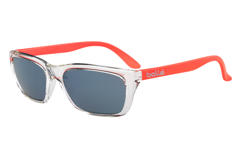 Bolle - 527 Shiny Crystal / Orange Sunglasses, GB10 Lenses