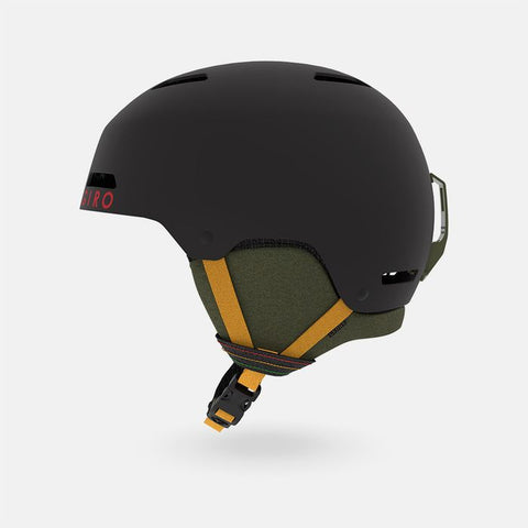 Giro - Ledge Large Matte Black Mo Rockin Snow Helmet