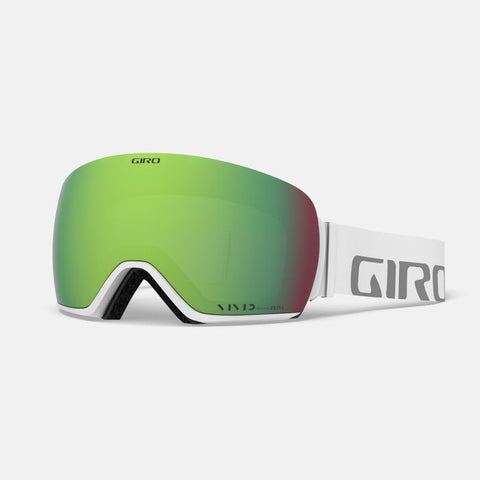 Giro - Article White Wordmark Snow Goggles / Vivid Emerald + Vivid Infrared Lenses