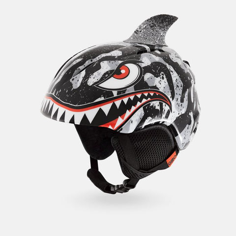 Giro - Launch Plus Black Grey Tiger Shark Small Snow Helmet