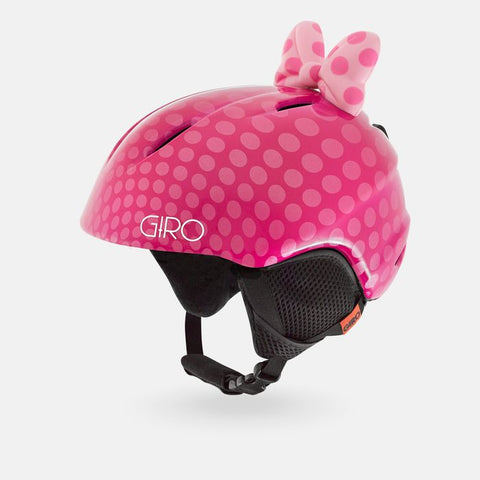 Giro - Launch Plus Pink Bow Small Snow Helmet