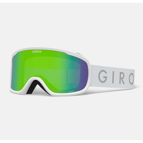 Giro - Roam AF White Core Snow Goggles / Loden Green + Yellow Lenses