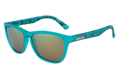 Bolle - 473 Matte Turquoise Sunglasses, Brown Emerald Polarized Lenses