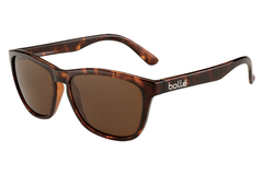 Bolle - 473 Shiny Tortoise Sunglasses, TLB Dark Lenses