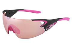 Bolle - 5th Element Pro Matte Pink/Black Sunglasses, Modulator Rose Gun Oleo AF Lenses