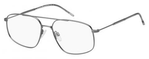 Tommy Hilfiger - Th 1631 Semi Matte Dark Ruthenium Eyeglasses / Demo Lenses