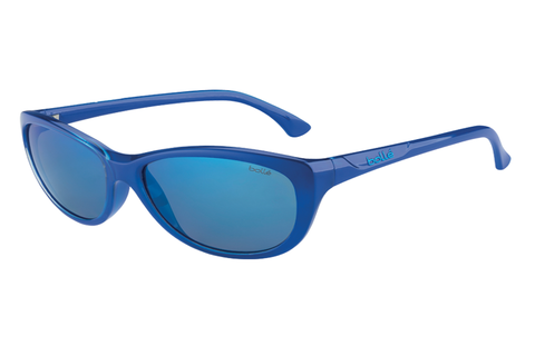 Bolle -  Greta Shiny Blue Sunglasses, GB10 Lenses