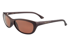 Bolle -  Greta Matte Chocolate Sunglasses, TLB Dark Lenses