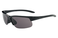 Bolle - Breaker Shiny Black Sunglasses, TNS Oleo AF Polarized Lenses