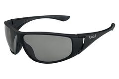 Bolle - Highwood Matte Black Sunglasses, Modulator Polarized Grey Lenses