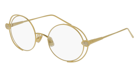 Boucheron - BC0031O Gold Eyeglasses / Demo Lenses