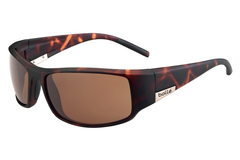 Bolle - King Matte Tortoise Sunglasses, TLB Dark Lenses