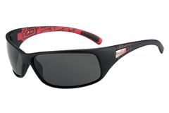 Bolle -  Recoil Matte Black/Red Sunglasses, TNS Lenses