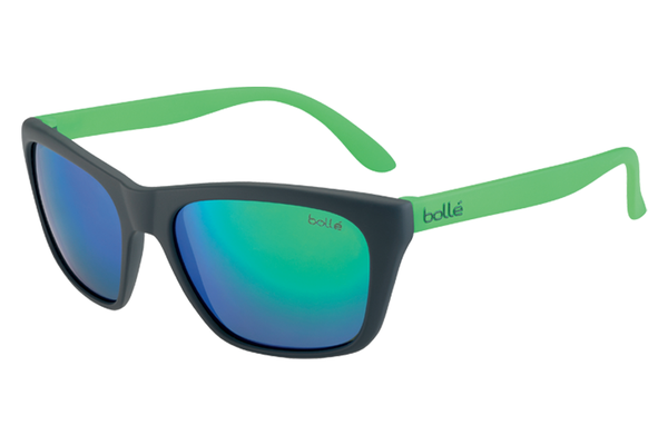 Bolle - Jordan Black/Green Sunglasses, TNS Green Lenses