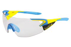 Bolle - 5th Element Pro Matte Yellow/Blue Sunglasses, Modulator Clear Grey Oleo AF Lenses