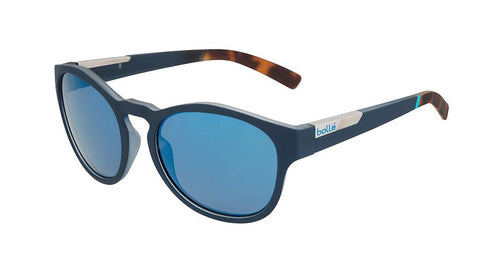 Bolle - Rooke Rubber Blue And Tortoise Sunglasses / GB10 Lenses