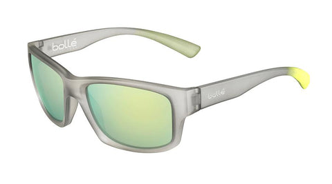 Bolle - Holman Matte Grey Crystal Yellow Sunglasses / Brown Sunshine Lenses
