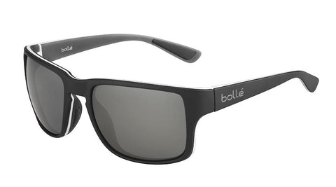 Bolle - Kayman Mate Grey Green Sunglasses / Polarized Brown Emerald Lenses