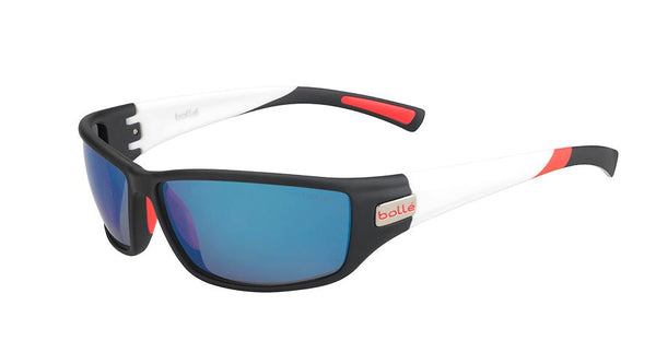 Bolle - Python Matte Navy White Sunglasses / GB10 Lenses