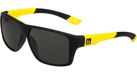 Bolle - Brecken Floatable Black Yellow Sunglasses / HD Polarized TNS Lenses
