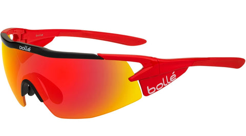 324cfe3264c Bolle - Aeromax Shiny Red Sunglasses   Brown Fire Lenses